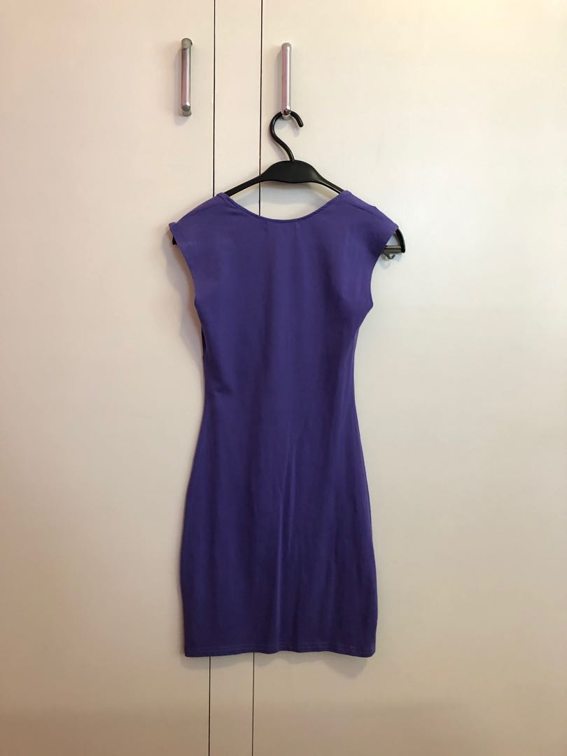 Minkpink Purple Bodycon Dress