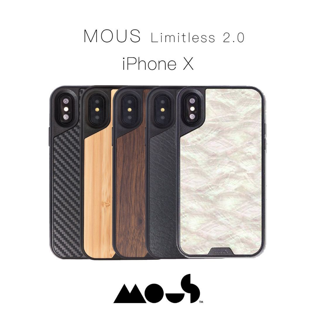 huge discount 5a6da aad09 Mous Limitless 2.0 iPhone X Casing Cover Ready Stock!!!