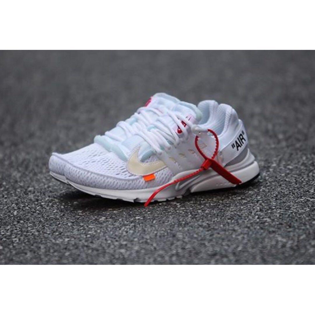 23366dad8417 New OFF-WHITE x Nike Air Presto (White) Brand New