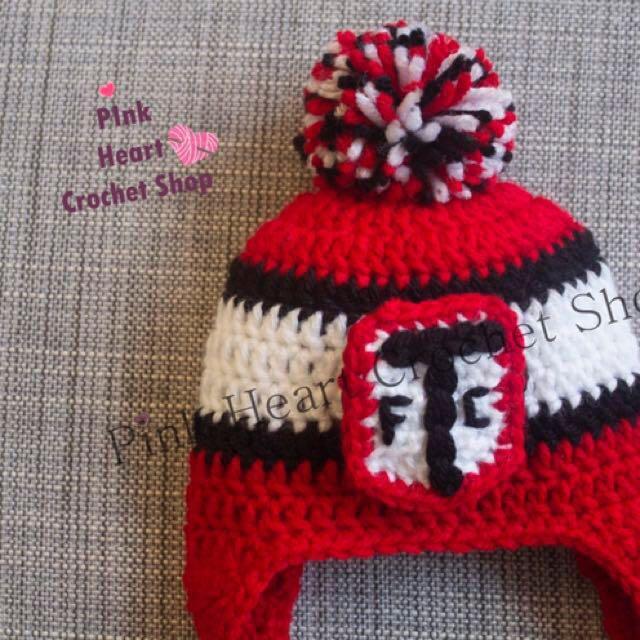 New Toronto FC Crochet Handmade hat