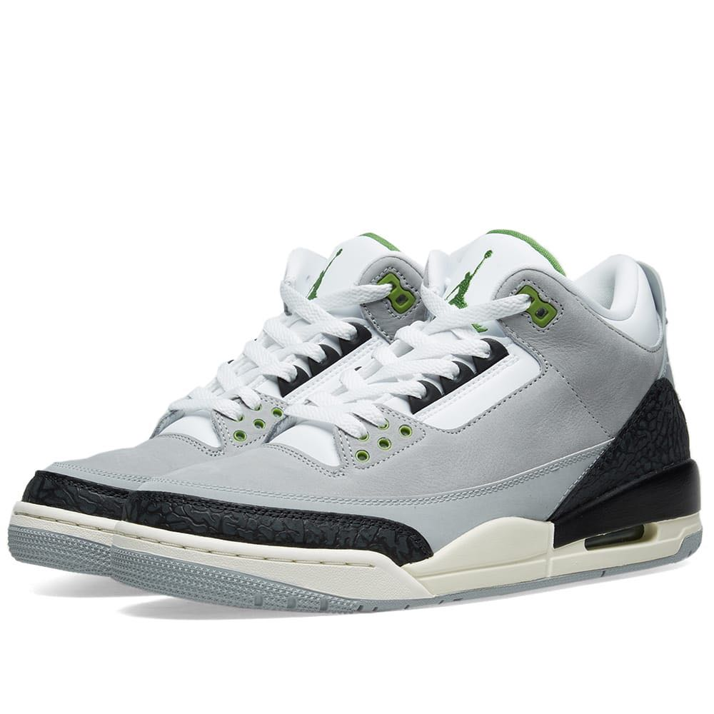 76854a98fcf281 Nike Air Jordan 3 Retro  Chlorophyll