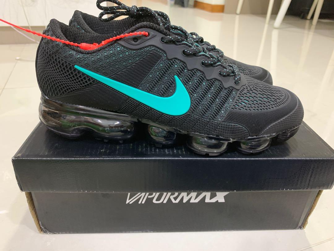 c2b9e641385 Nike Air Vapormax Flyknit Jade Black