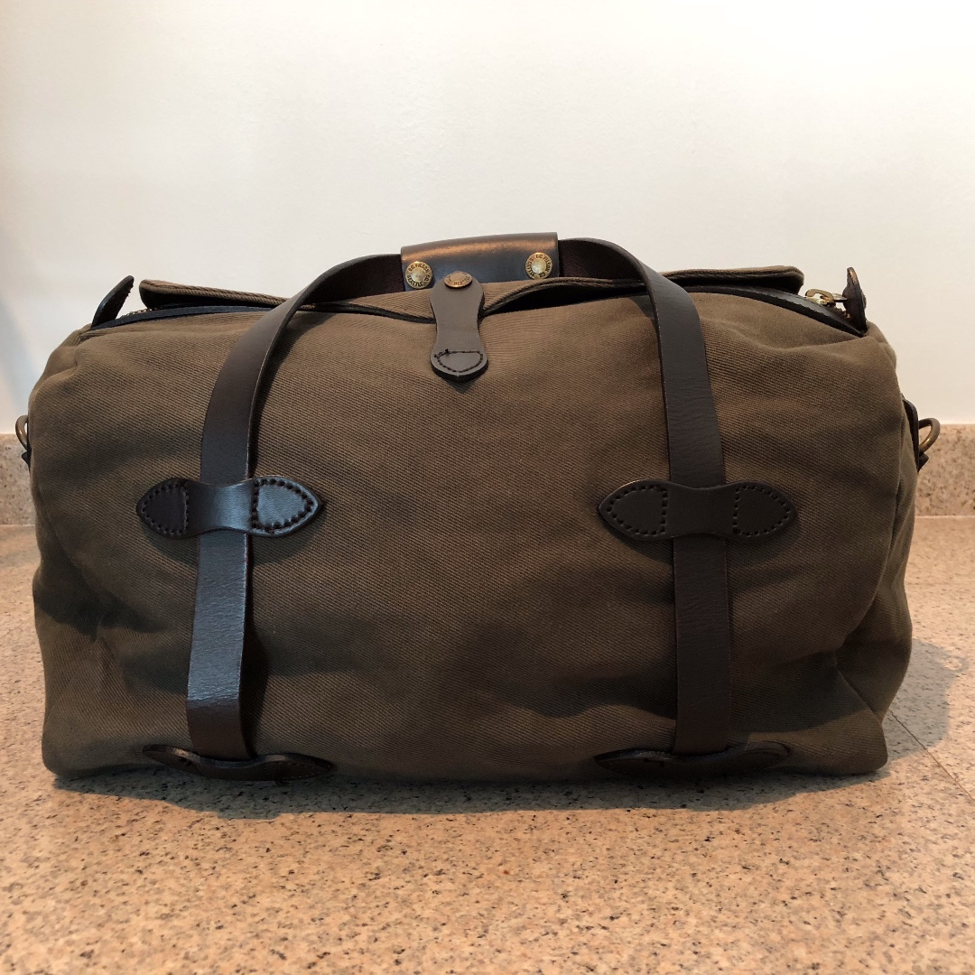 6f4fd080496d Otter Green - Filson Small Rugged Twill Duffle Bag