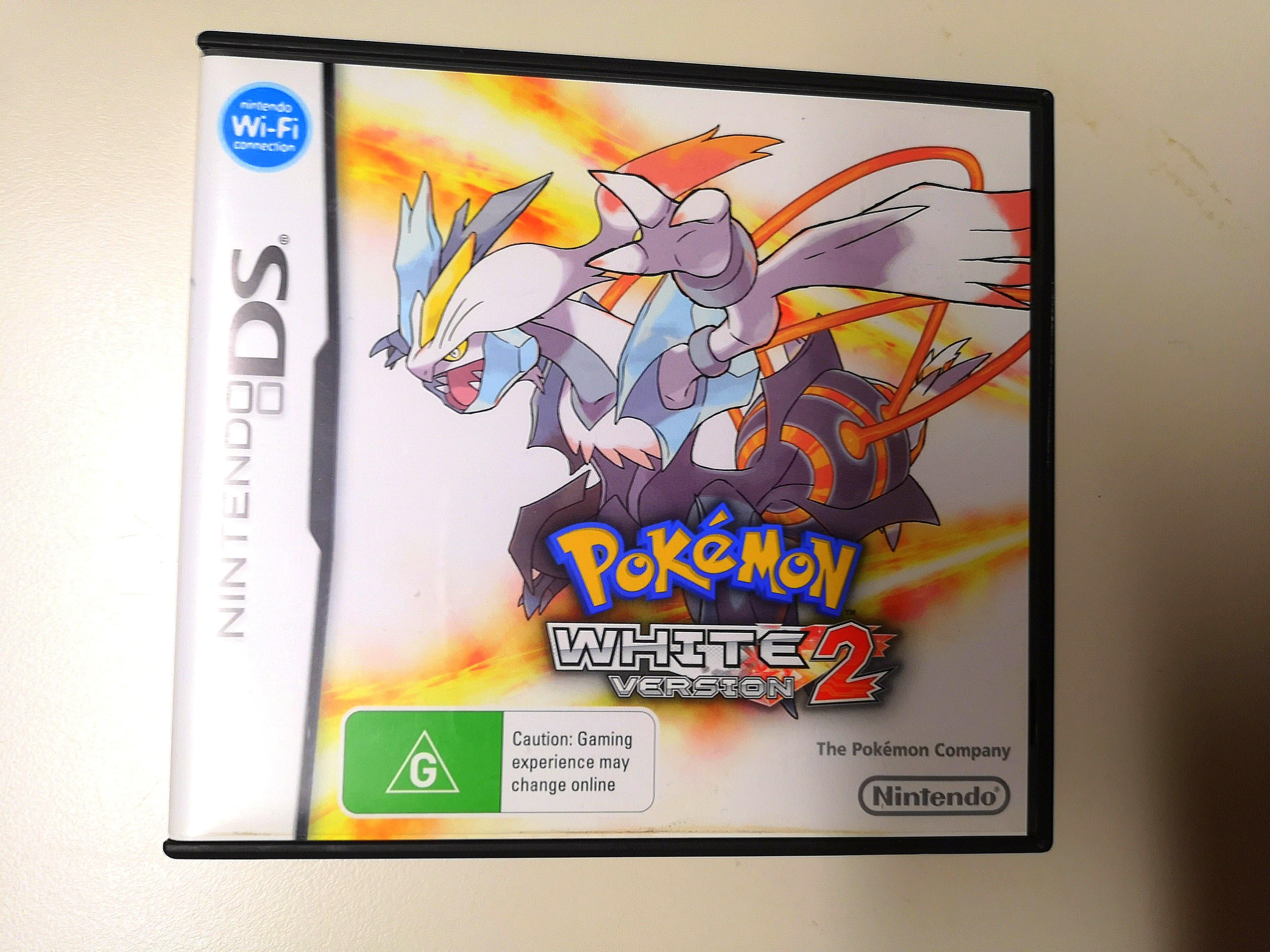 Pokemon White Version 2 - AUS PAL Boxed with Manual