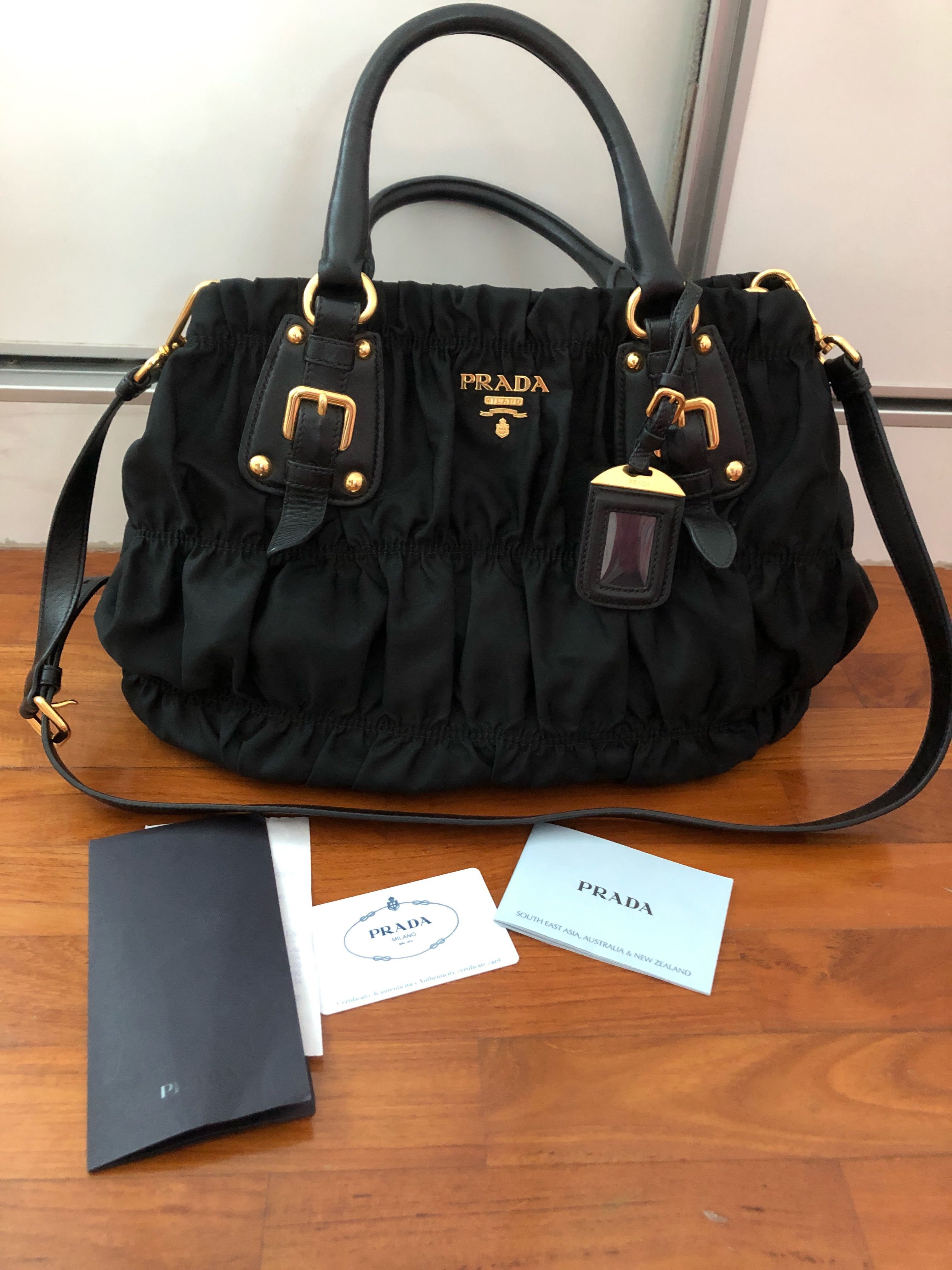 935aec63f6f993 ... australia prada bag bn1792 tessuto gaufre womens fashion bags wallets  others on carousell cc452 07a6d coupon code authentic ...