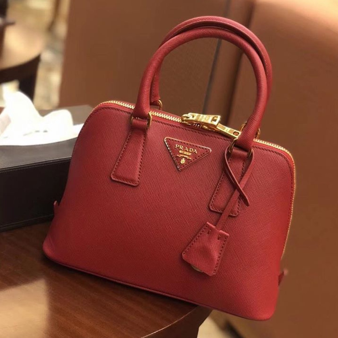1454d29a5cd2 Prada Saffiano mini promenade bag