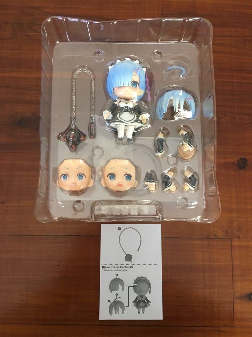 Re; Zero Rem Official Nendoroid