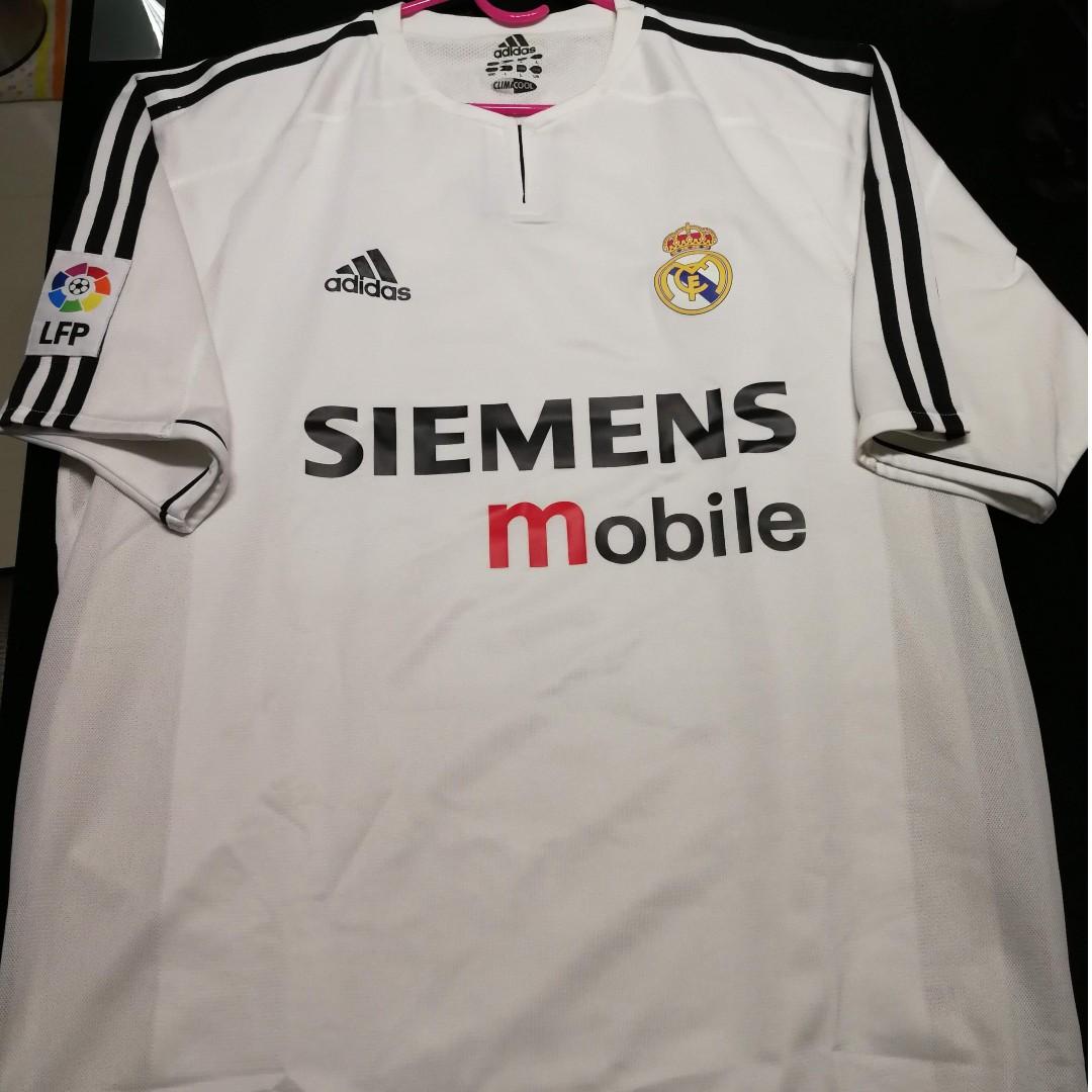 b3ac89c4b Real Madrid Home 2004-2005 Kit Zidane  5