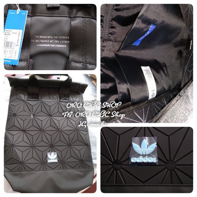 Sale Adidas 3D backpack, Luxury, Bags   Wallets, Backpacks on Carousell 1556bf2c2e