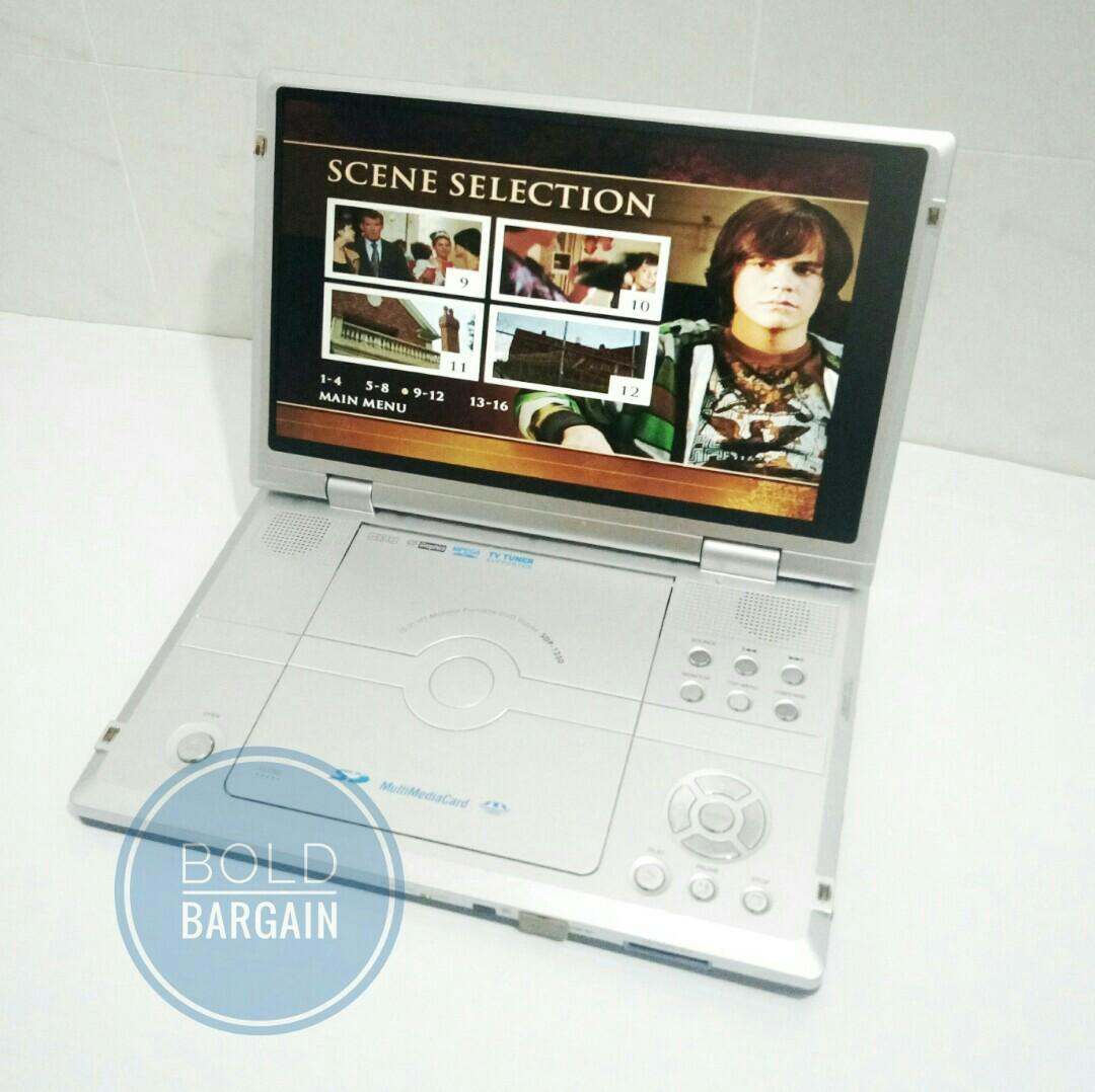 "Shinco SDP-1230 Portable DVD Player 10.2"" inch TFT LCD Monitor"