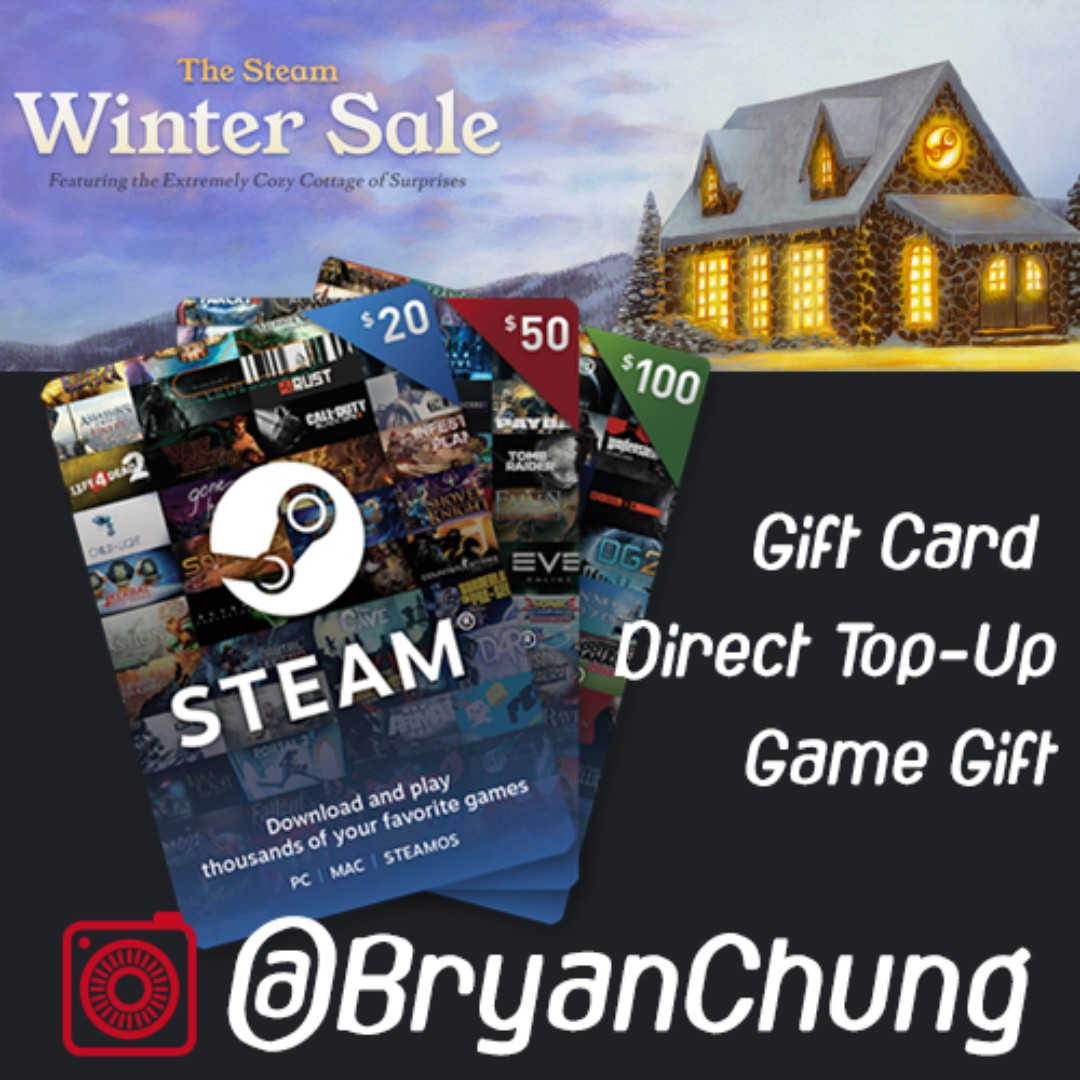 20$ steam gift card