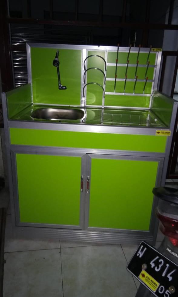 Tempat cuci piring aluminium, Perabotan Rumah di Carousell