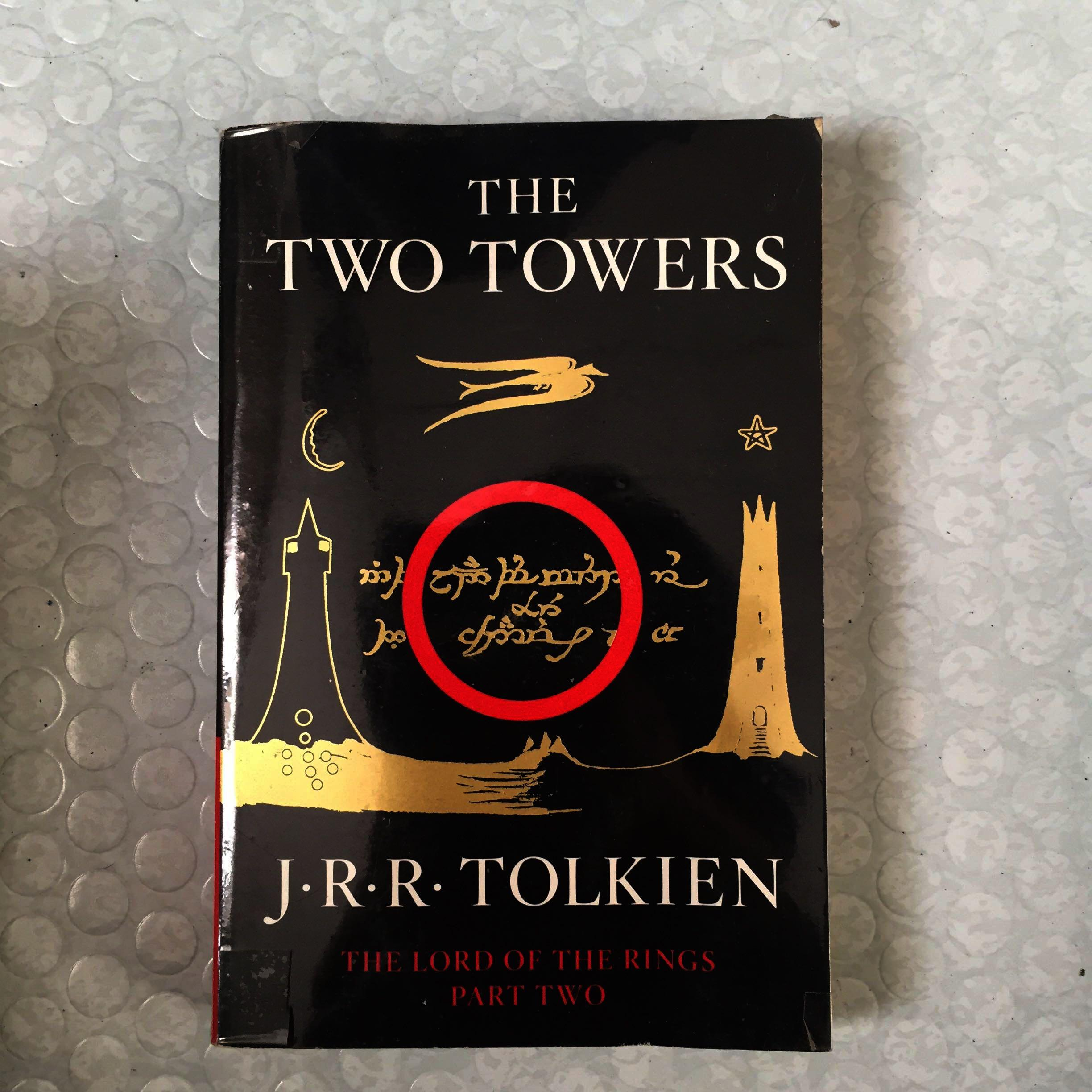 The Two Towers (Lord of the Rings Part Two) by J.R.R. Tolkien