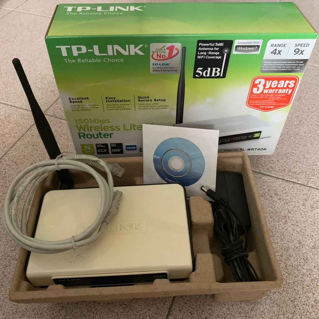 TP Link Wireless Router TL-WR740N, Electronics, Others on