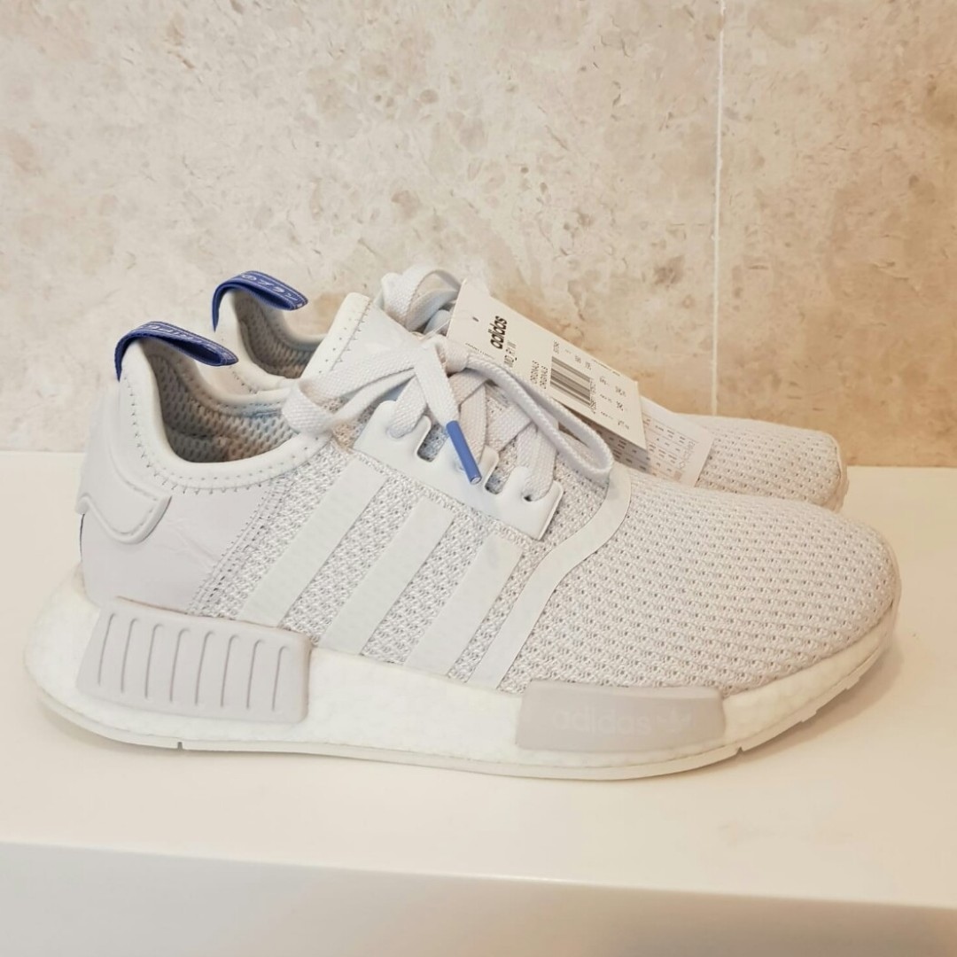 premium selection f926f 3c3b9 UK6 Adidas Womens NMD R1 Crystal White, Women s Fashion, Shoes, Sneakers on  Carousell