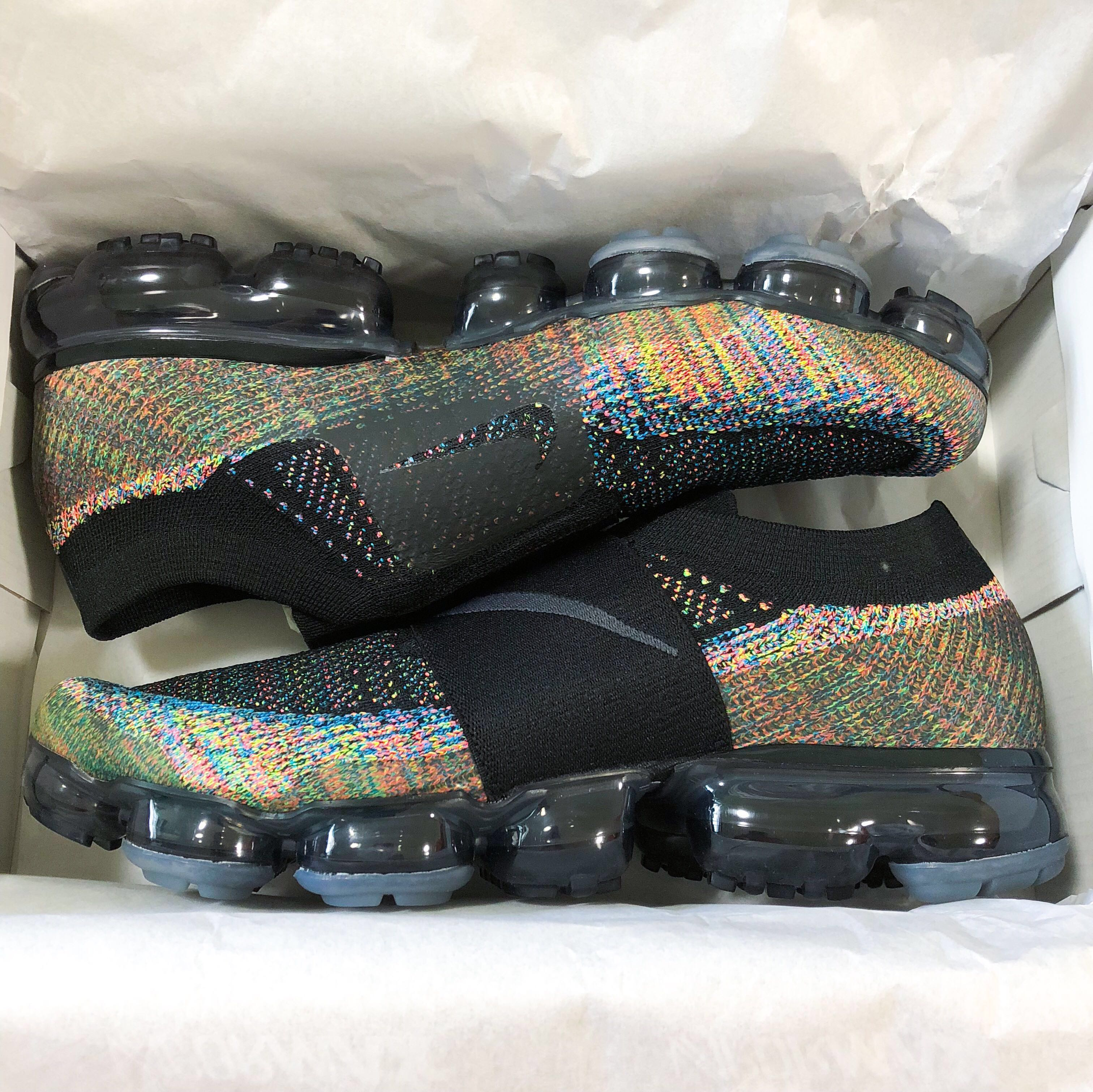 info for 0b826 4d96b US10 Nike Air Vapormax Flyknit Moc v1 Multicolor, Men s Fashion, Footwear,  Sneakers on Carousell