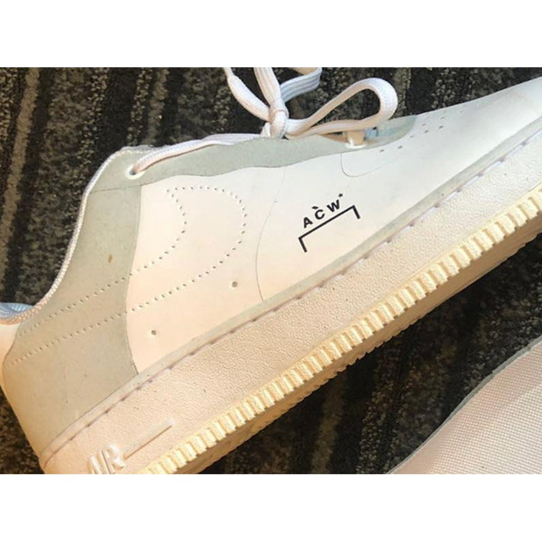 US 10 Nike Air Force 1 x A Cold Wall Acw A-Cold-Wall 4a4e51563