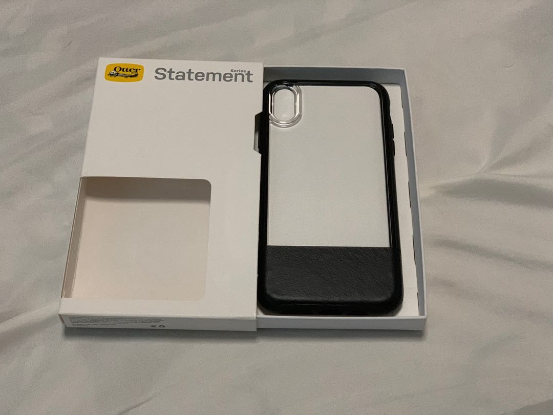 separation shoes ed0f1 1e807 Used OtterBox Statement iPhone XS Max Case - Lucent Black