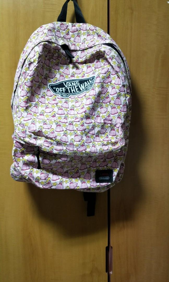 86bedb5d51c9 Vans X Nintendo - Nintendo Princess Peach - Backpack