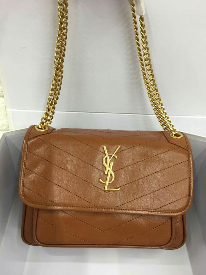 w Serial Engraves CLEARANCE SALE 28cm YSL Sling Bag YSL Niki Bag Yves Saint  Laurent Niki Bag YSL Chain Bag YSL Shoulder Bag eb207e0d4c213