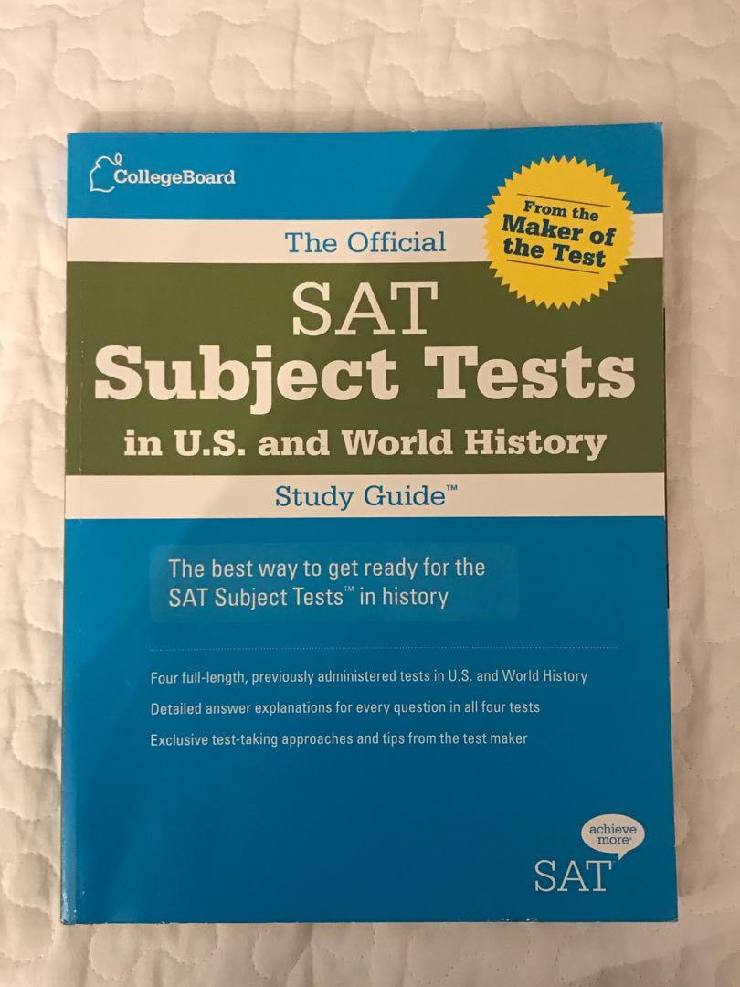 WORLD HISTORY : SAT SUBJECT TEST GUIDEBOOK