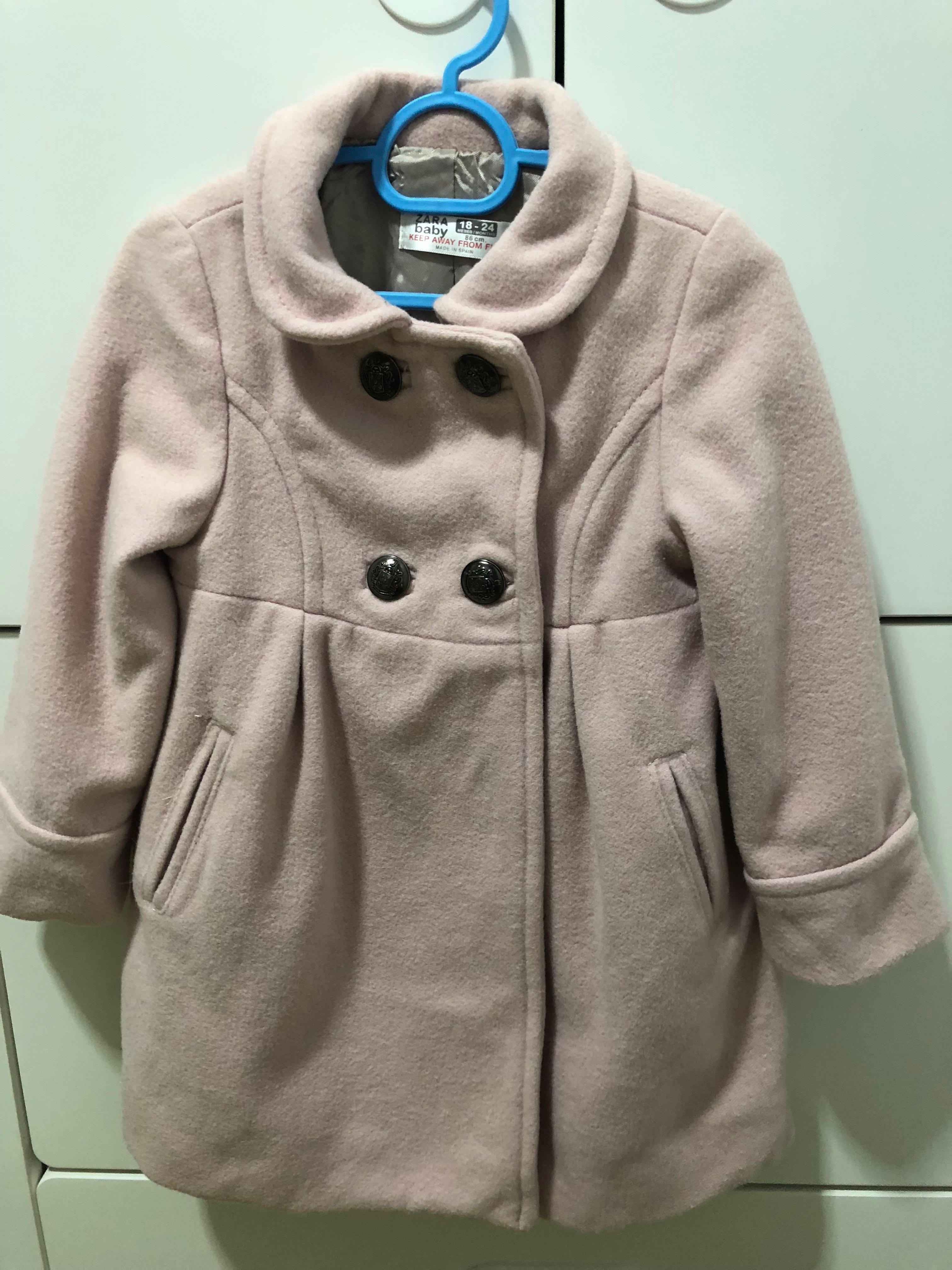 a9d922eb425b Zara baby girl winter jacket coat (18-24 months)