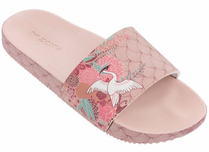 Zaxy Snap Trendy Pink 100% Authentic US 9
