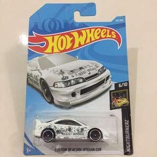 Hot Wheels 6/10 Nightburnerz 213/365 Custom '01 Acura Integra GSR