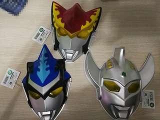 🇯🇵日本直送🇯🇵鹹蛋超人面具,$50個,帆布$30(有正常摺痕),大超人$100