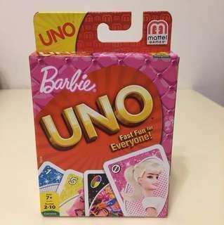 Barbie UNO (原廠Mattel出品)