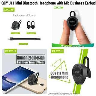 Mini Bluetooth Headphone QCY J11