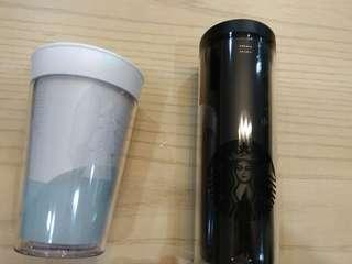 Starbucks tumbler- Crosby (12oz) and Xmas