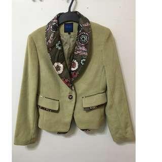 [全新]復古質感 西裝外套