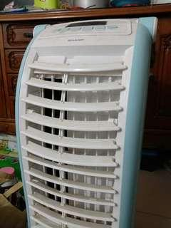 SHARP AIR COOLER AIR CONDITIONER AC PORTABLE USED BEKAS SECOND