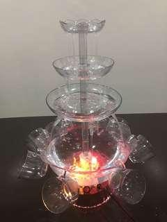 Party Fountain with cups