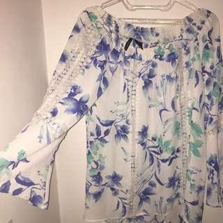 Sabrina Flower Shirt