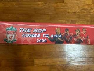 LFC scarf (The Kop Comes to Asia 2009)