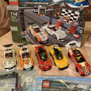 LEGO 75912, extra 2 Ferrari 1 Mclaren