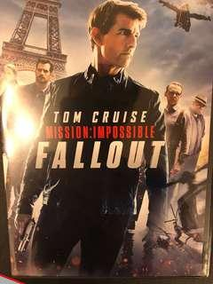Mission impossible fallout- dvd
