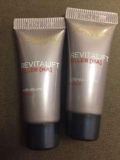 L'Oréal Paris Revitalift Filler [HA] Micro Volumizing Essence 活力緊緻透明質酸充盈導入精華 5ml x2