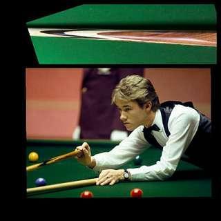 📐SAMPLE🎱Stephen Hendry 1pc Maple Rex Williams Powerglide replica snooker cue 7届世冠款 楓木桌球杆 訂製球桿 英式 Q棍