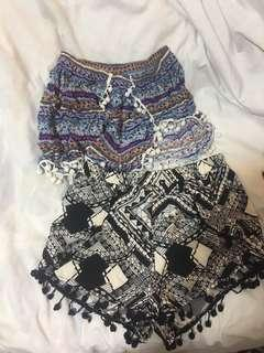 🚚 Tribal Shorts