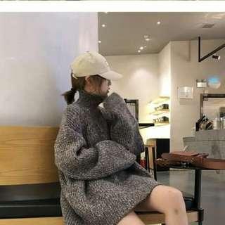 【團購】高領慵懶風針織毛衣