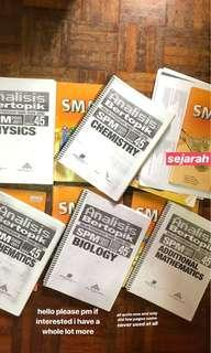 Spm reference books #XMAS50