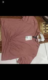 H&M TOP SOFT PINK