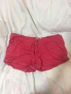 🚚 Red cotton on short