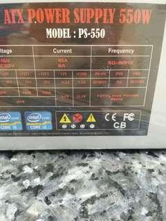 psu 550w,power supply,pc psu!cleaning store!