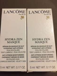 Lancome Hydrazen masque  5ml x2