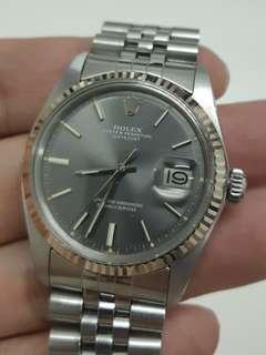 Rolex 1601 vintage watch 古董錶 原裝灰面