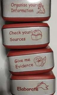 Educator stamps